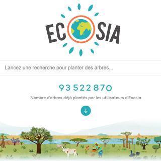 navigateur écologique ecosia